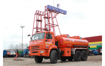 АТЗ на базе шасси КАМАЗ 43118-46